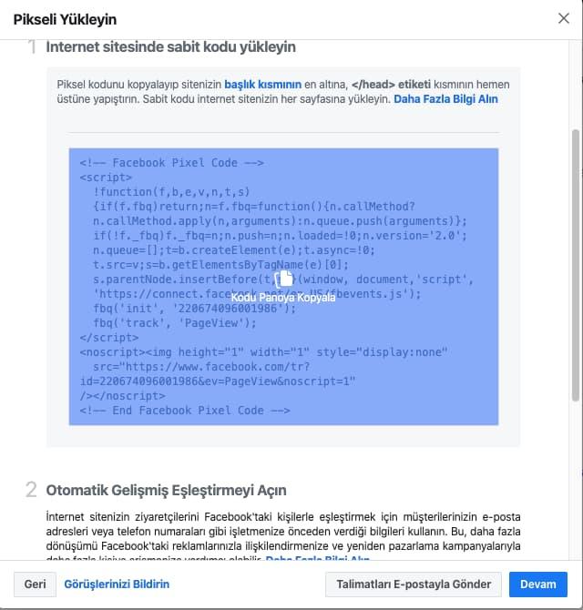 Facebook Piksel Kodu Google Tag Manager ile Nasıl Eklenir?, Seotional
